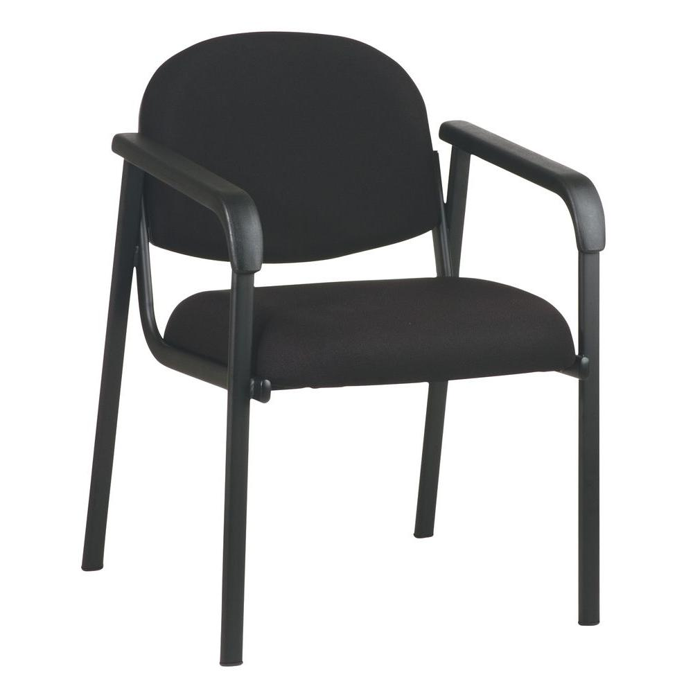 Work Chair Black Visitor Office Chair