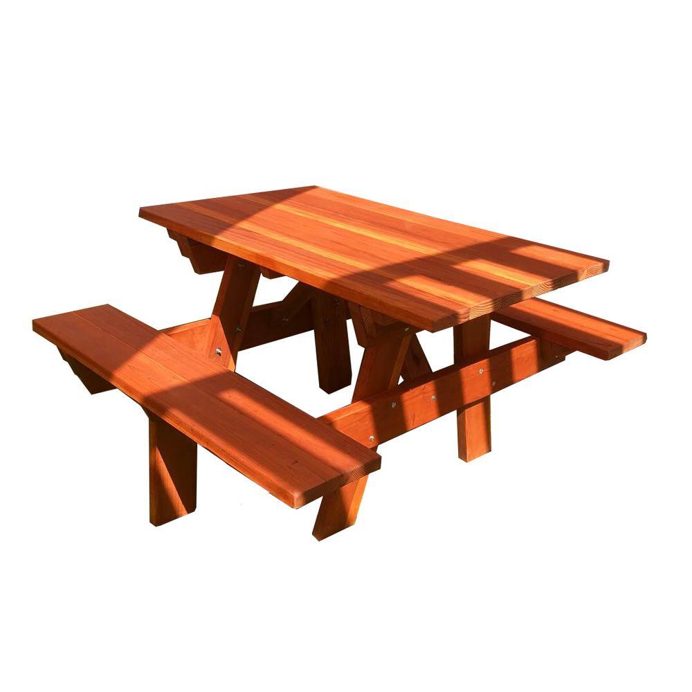 4×4 Picnic Table Plans