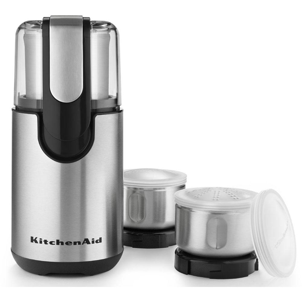kitchen aid grinder inexpensive countertops kitchenaid one touch coffee bcg211ob the home depot