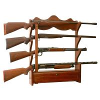 American Furniture Classics 1.00 cu. ft. 4 Gun Wall Rack ...