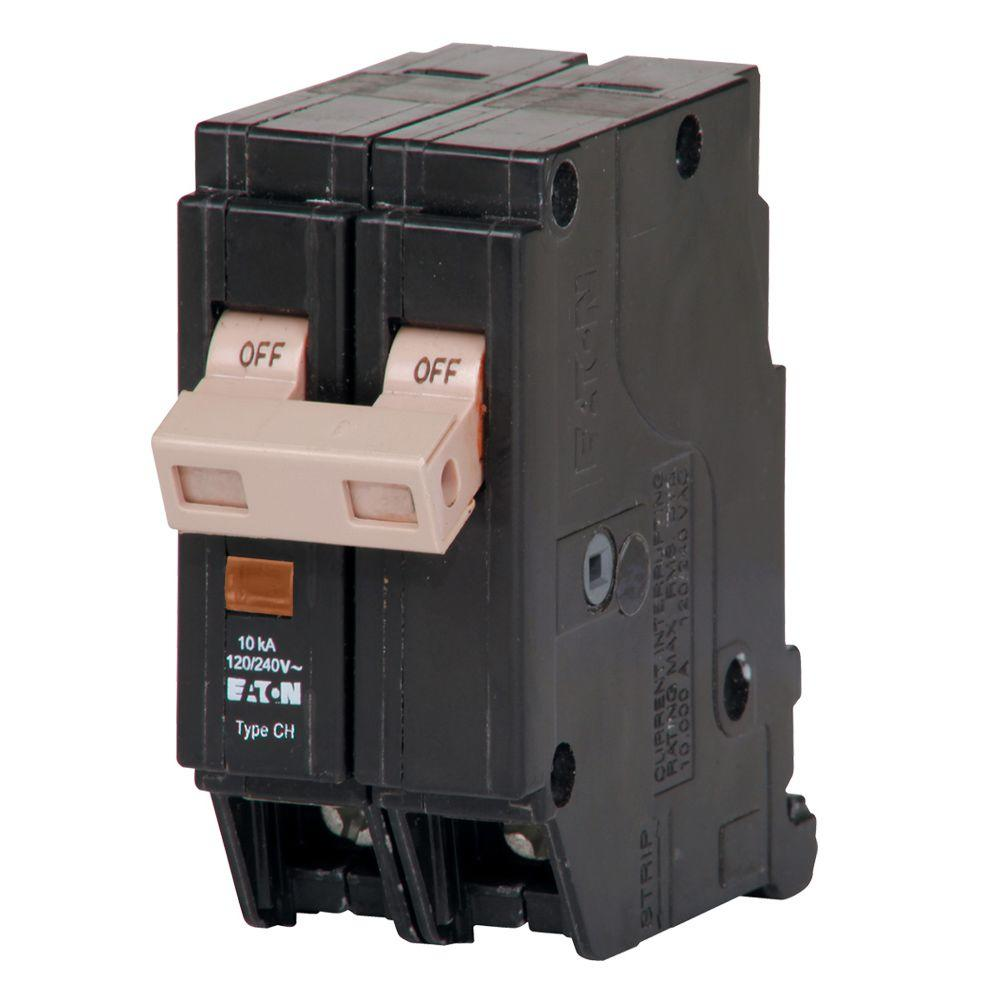 medium resolution of eaton ch 40 amp 2 pole circuit breaker with trip flag chf240 the besides 30 2 pole breaker on 2 pole 40 amp circuit breaker wiring