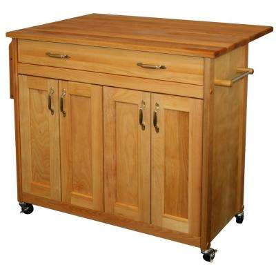 drop leaf kitchen cart chalkboards for carts islands utility tables the natural with