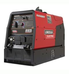 lincoln electric 225 amp ranger 225 gas engine driven dc multi process welder 10 5 [ 1000 x 1000 Pixel ]