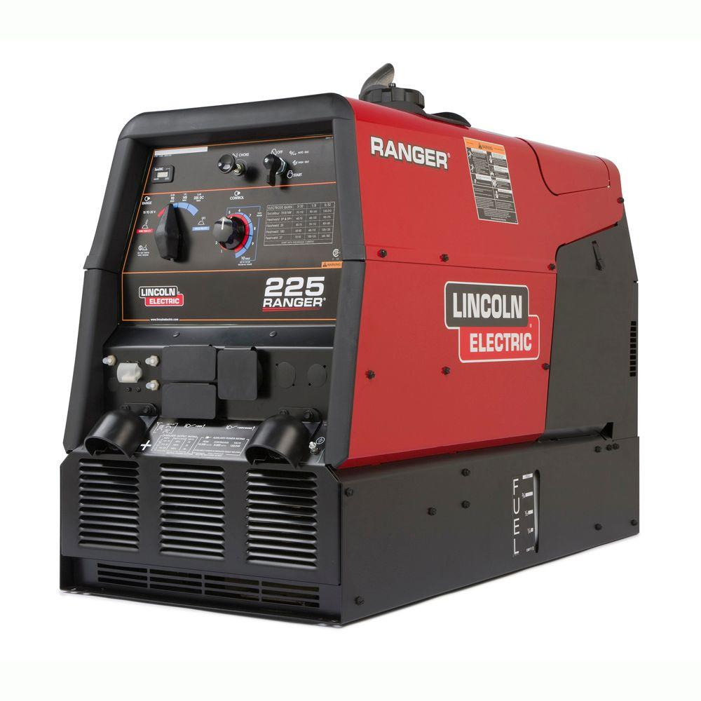 medium resolution of lincoln electric 225 amp ranger 225 gas engine driven dc multi process welder 10 5