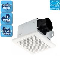 50 CFM Bathroom Ceiling Exhaust Fan Wall Mounted ...