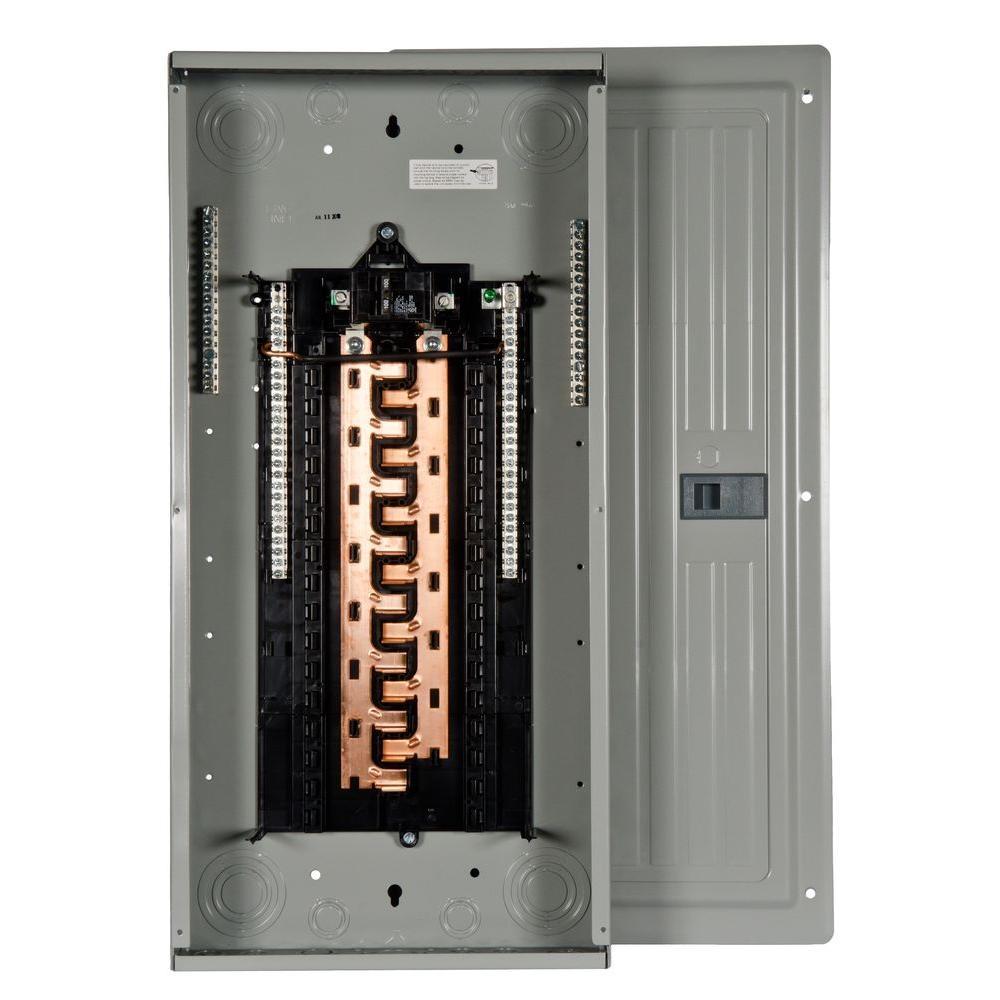 100 amp fuse in breaker box