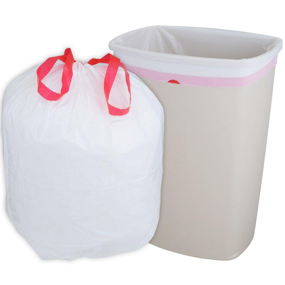 HUSKY 13 Gal Drawstring Kitchen Trash Bags 300Count