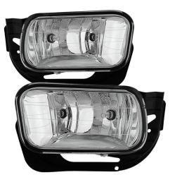 dodge ram 09 12 1500 10 12 2500 3500 oem fog light come with metal bracket no switch clear [ 1000 x 1000 Pixel ]