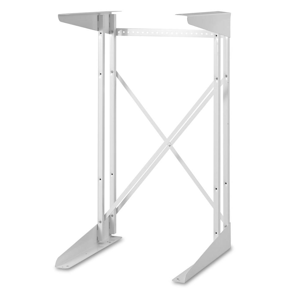 hight resolution of compact white dryer stand