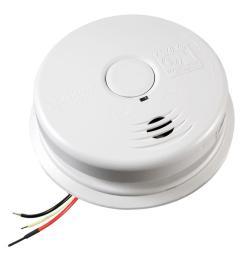 kidde worry free hardwire smoke detector with 10 year battery backup [ 1000 x 1000 Pixel ]