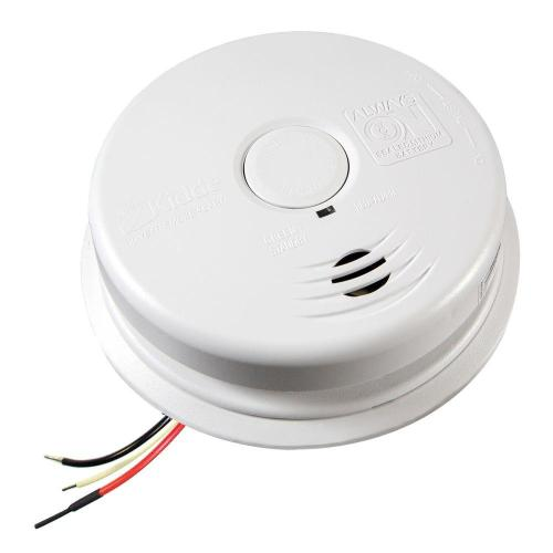 small resolution of kidde worry free hardwire smoke detector with 10 year battery backup