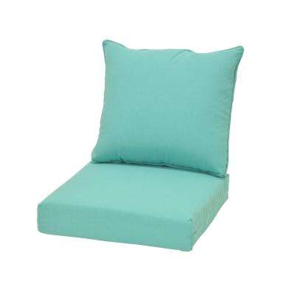 making adirondack chair cushions nailhead accent outdoor the home depot seaglass 2 piece deep seating lounge cushion