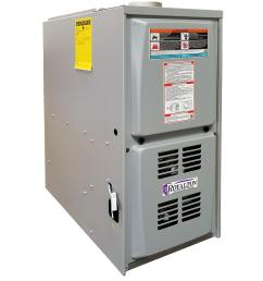 royalton 44 000 btu 80 afue single stage downflow forced air natural gas furnace with [ 1000 x 1000 Pixel ]