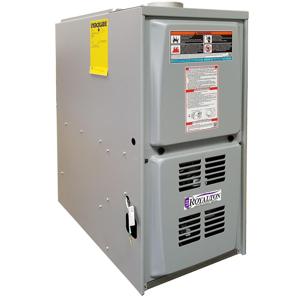 medium resolution of royalton 44 000 btu 80 afue single stage downflow forced air natural gas furnace with