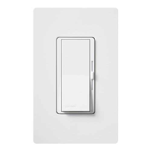small resolution of diva c l dimmer switch for dimmable led halogen and incandescent bulbs single pole or 3 way with wallplate white