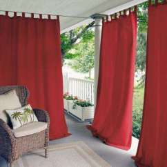 Red And Grey Living Room Curtains Pinterest Small Drapes Window Treatments The Home Depot Matine