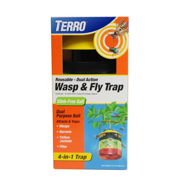 Terro Wasp And Fly Trap-t516 - Home Depot