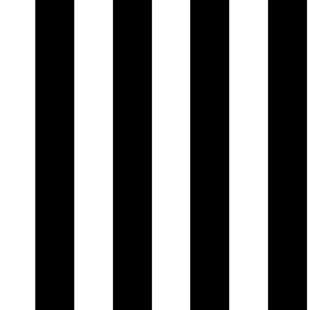 Graham Brown Monochrome Stripe Black And White Removable Wallpaper Sample 10009994 The Home Depot