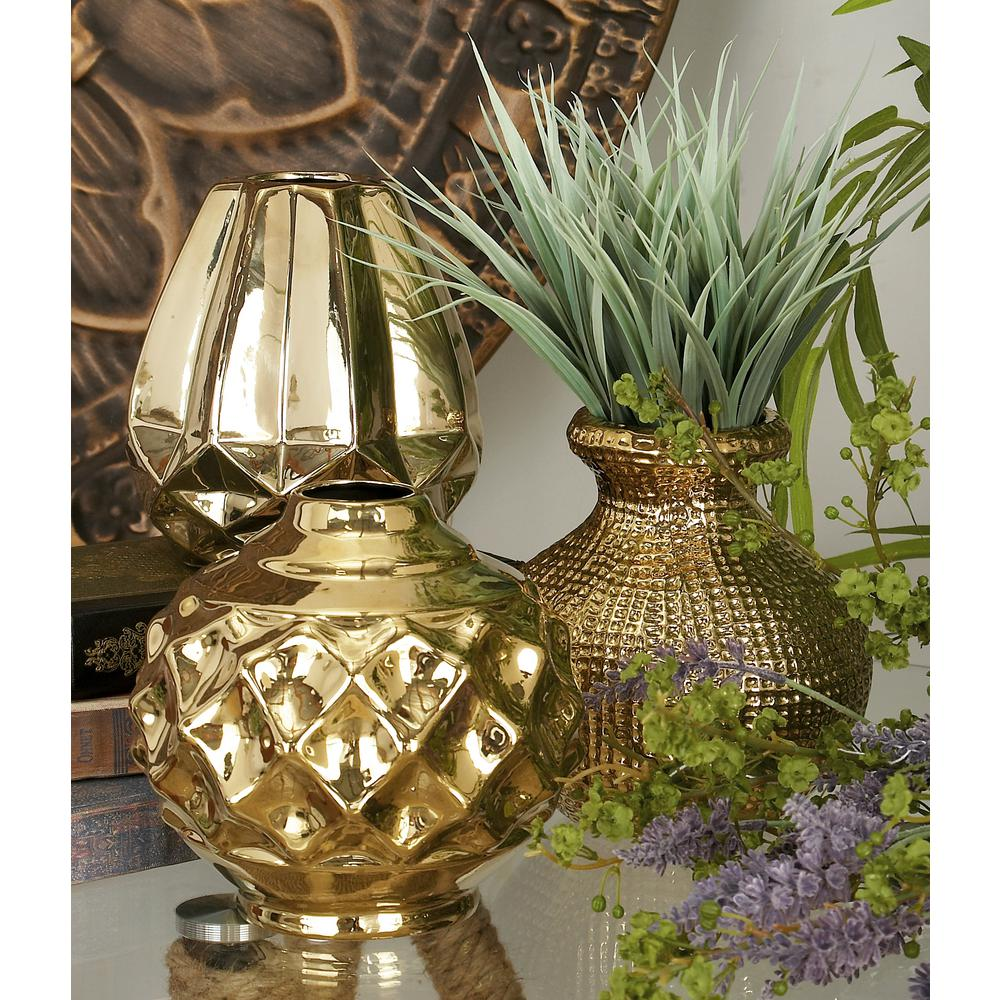 CosmoLiving by Cosmopolitan 6 in. Modern Polished Gold ...