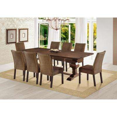 kitchen dining tables coffee color cabinets room furniture the home tower 79 in cinnamon table