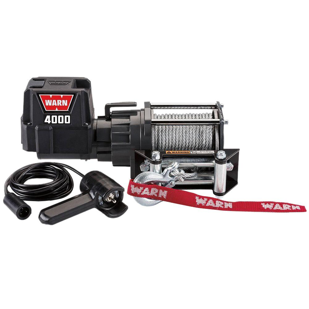 hight resolution of warn 4000 dc trailer loading utility winch