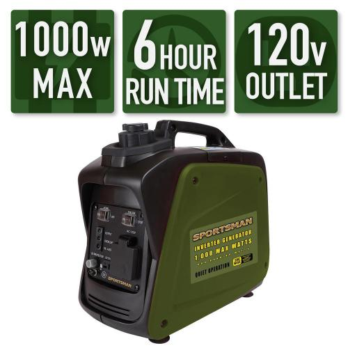 small resolution of sportsman 1 000 800 watt gasoline powered digital inverter generator