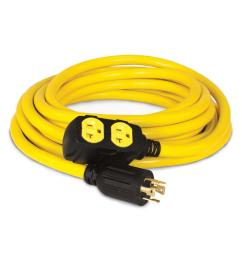 champion power equipment 25 ft 240 volt generator power cord [ 1000 x 1000 Pixel ]