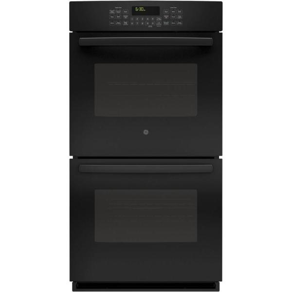 Ge Profile 27 In. Double Electric Smart Wall Oven -cleaning With Steam Convection And