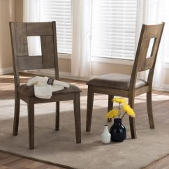 Gray Side Chair White Armless Baxton Studio Gillian Wood Dining Chairs Set Of 2 2pc 7089 Hd