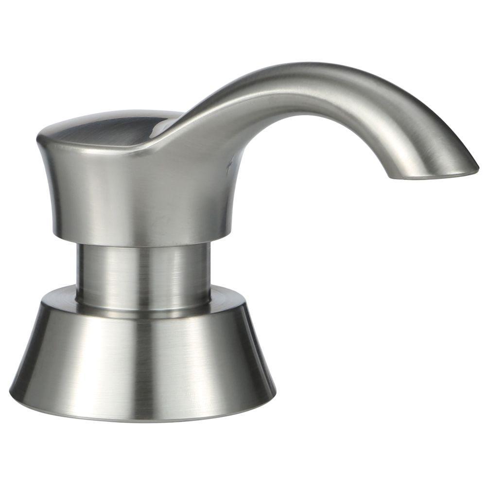 kitchen soap ebay delta pilar dispenser in chrome rp50781 the home depot
