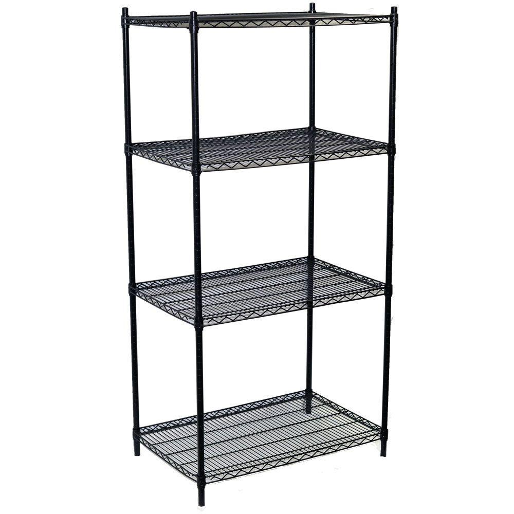 Storage Concepts 63 in. H x 36 in. W x 18 in. D 4-Shelf