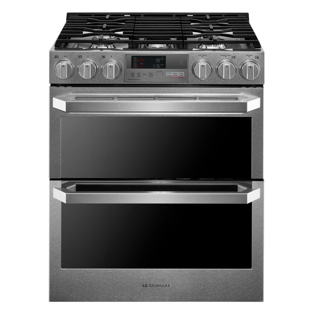 hight resolution of lg signature 7 3 cu ft slide in double oven smart dual fuel range lg stove top wiring diagram