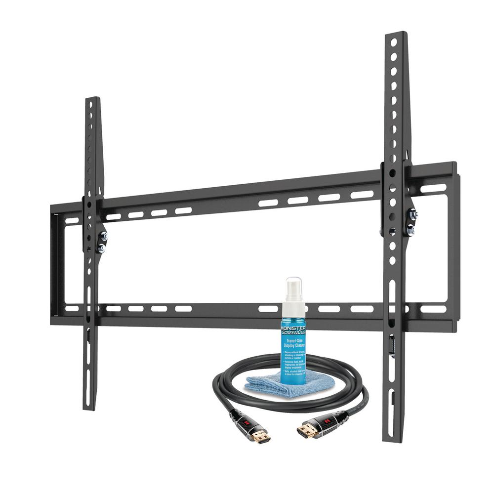 Ematic Full Motion TV Wall Mount Kit with HDMI Cable for