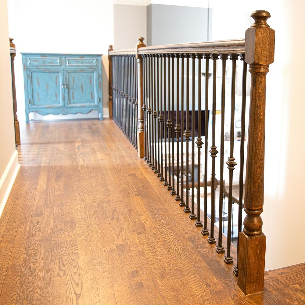 Stair Parts Tap And Twist 1 2 In Hollow Metal Baluster Install | Wood And Metal Banister | Modern | Rustic | Stainless Steel | Design | Aluminum