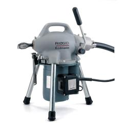 115 volt k 50 sectional drain cleaner machine for 1 1 4 in to 4 in drain lines [ 1000 x 1000 Pixel ]