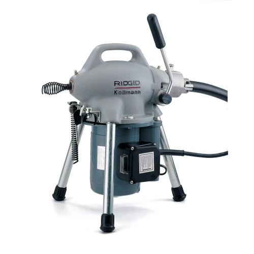 small resolution of 115 volt k 50 sectional drain cleaner machine for 1 1 4 in to 4 in drain lines