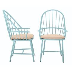 Outdoor Aluminum Chairs For Bedrooms Martha Stewart Living Blue Hill Dining With Beige Tan Cushions 2 Pack