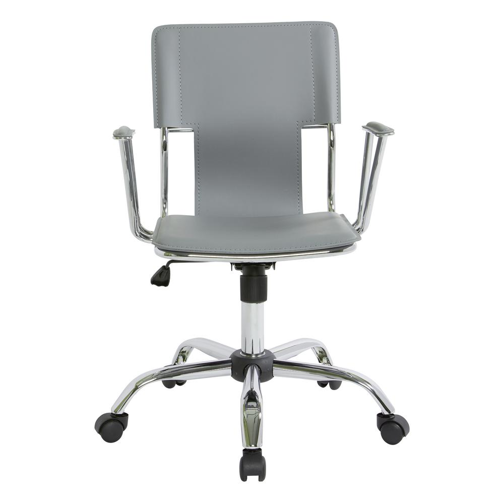 dorado office chair booster seat for 4 year old work smart gray dor26 gy the home depot