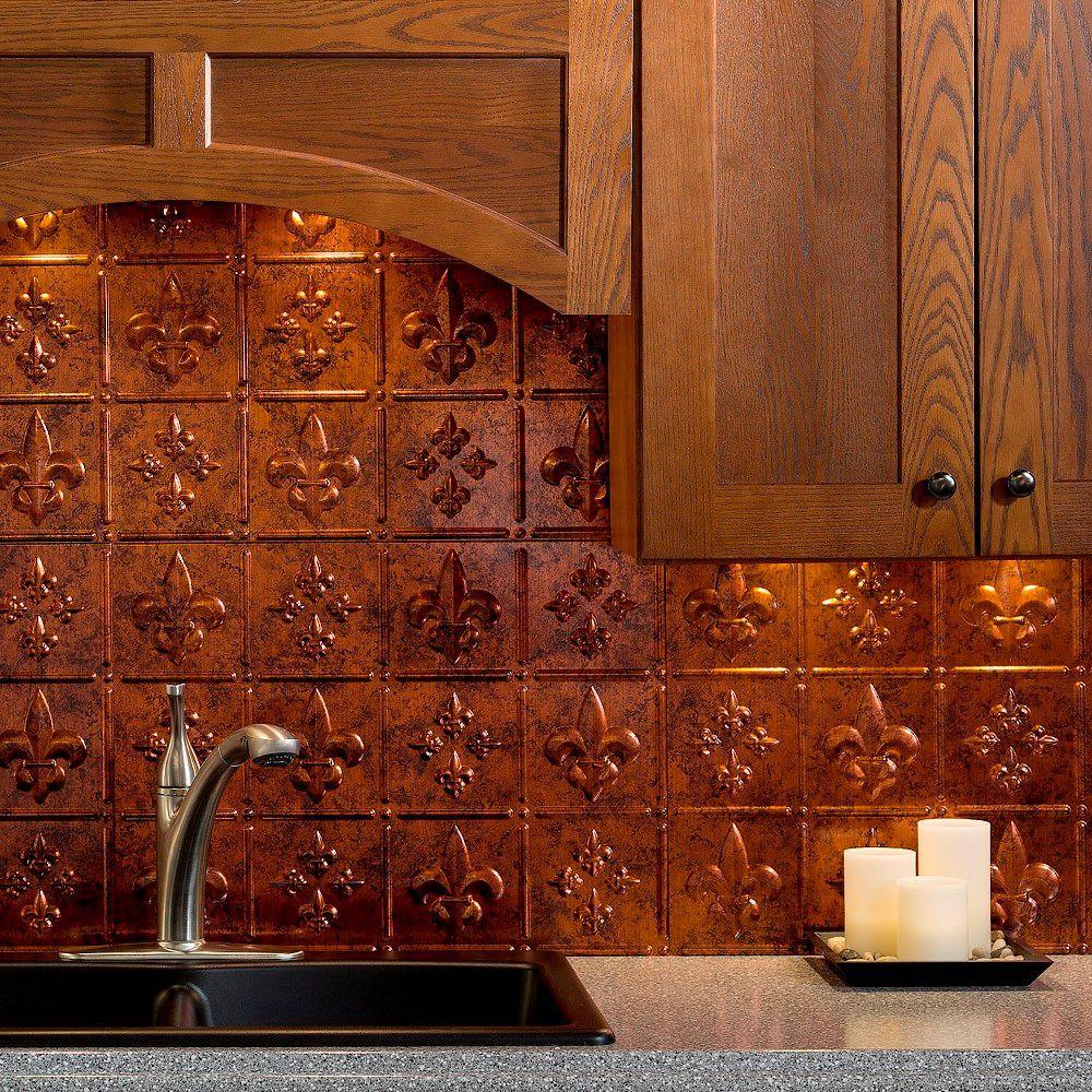 Copper Backsplash Tiles