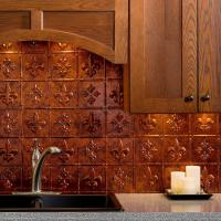 Copper Backsplash Tiles | Tile Design Ideas