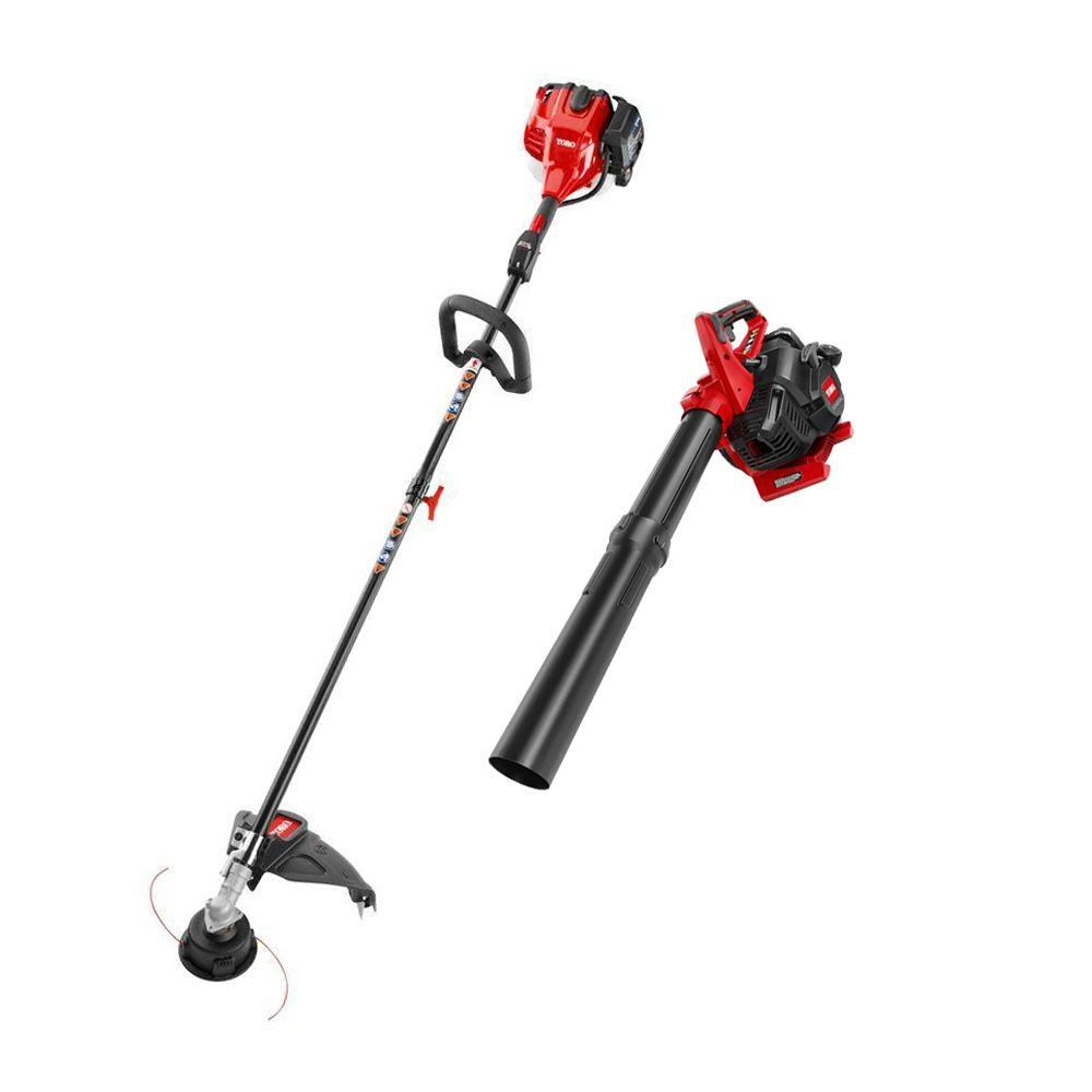 Toro 2-Cycle Straight Shaft Gas String Trimmer and Blower