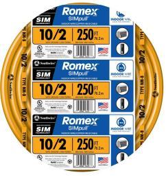 southwire 250 ft 10 2 solid romex simpull cu nm b w g wire 28829055 12 lead motor diagram  [ 1000 x 1000 Pixel ]
