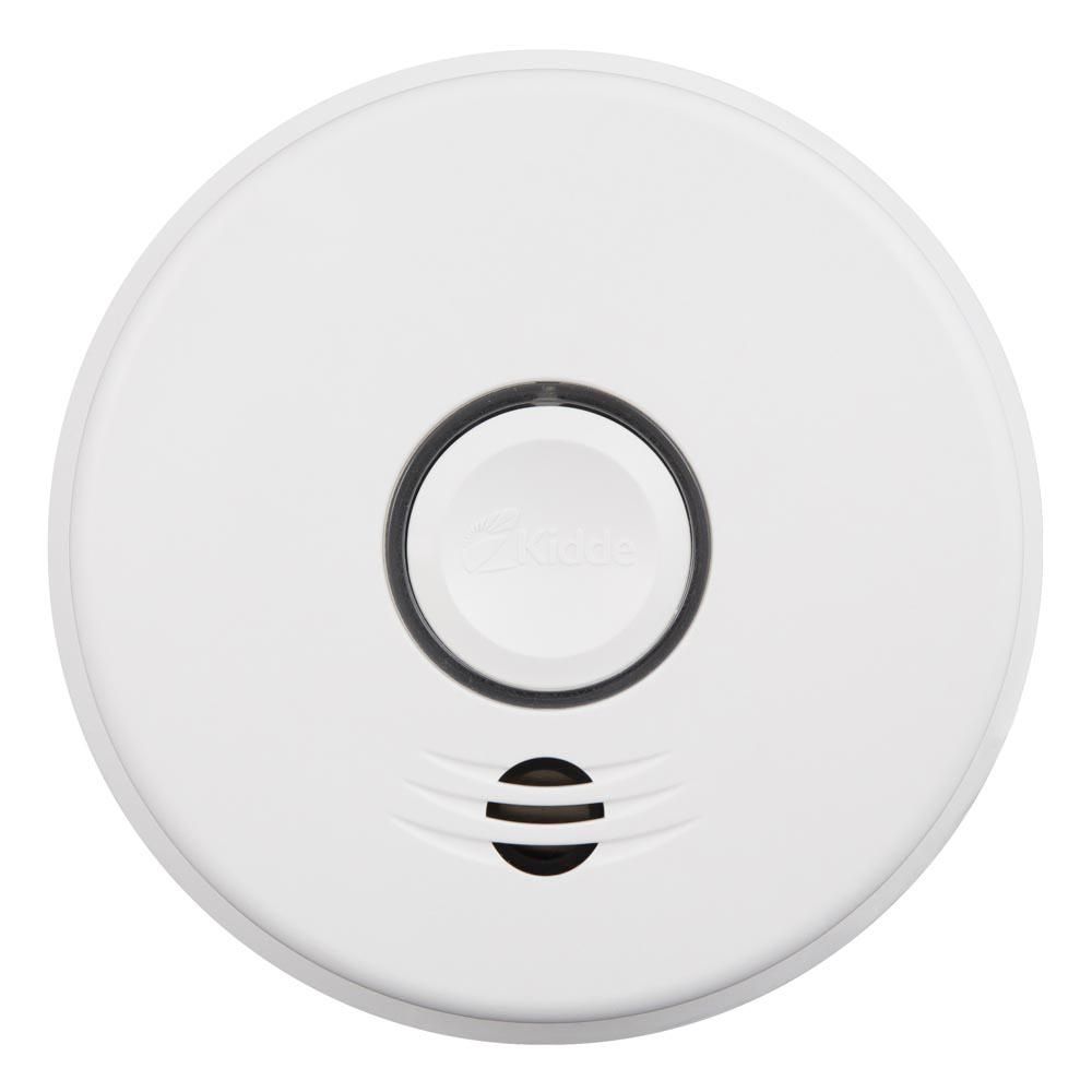 hight resolution of kidde hardwire smoke detector with 10 year battery backup and intelligent wire free voice
