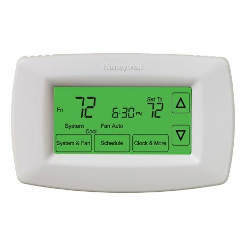 small resolution of honeywell 7 day programmable touchscreen thermostat
