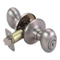 Design House Egg Satin Nickel Keyed Entry Door Knob-750505 ...