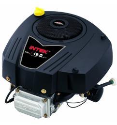 briggs stratton 19 hp 1 in crankshaft intek vertical ohv engine [ 1000 x 1000 Pixel ]