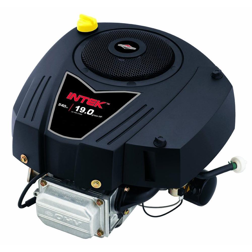medium resolution of briggs stratton 19 hp 1 in crankshaft intek vertical ohv engine