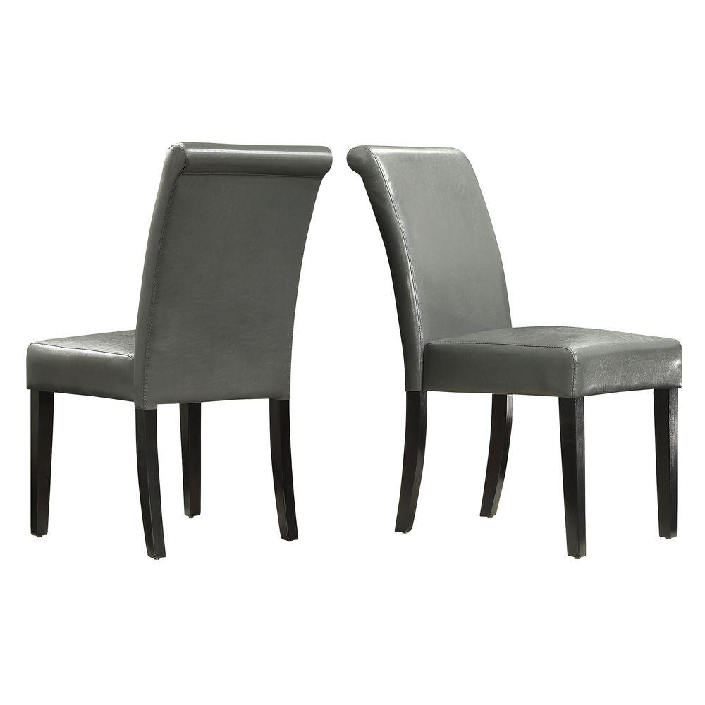 Fairfield Chairs Fairfield Stone Faux Leather Dining Chair Set Of 2