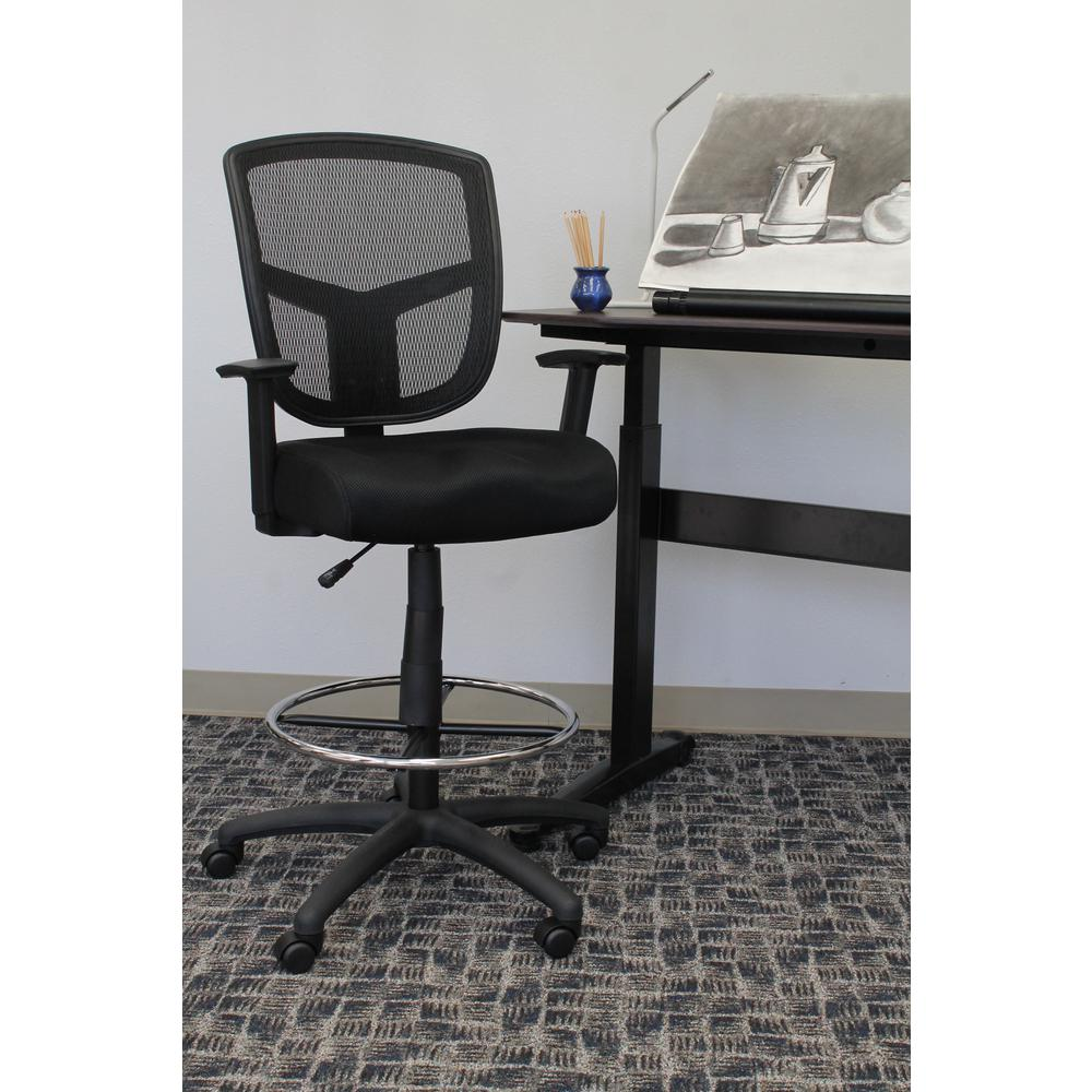 chair mesh stool types of couches and chairs boss black drafting b16021 the home depot