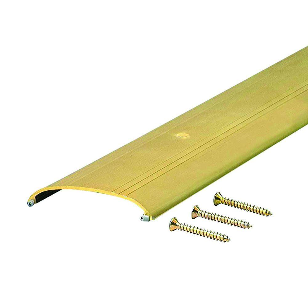 4 Wide x 1//2 High Gold Corrugated Threshold Long 3 FT 36